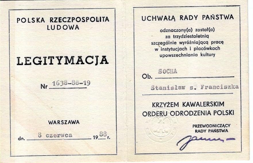 Galeria Spotkanie ze Stanisławem Sochą